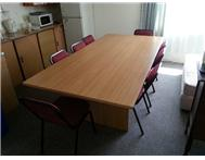 Office Furniture - Boardroom Table & 8 x Chairs