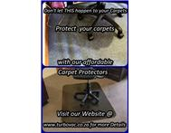 CARPET PROTECTORS from ONLY R250