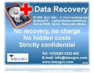 Imexgro Computer Data Recovery in Computers & Internet Western Cape Cape Town - South Africa