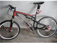 im selling a full carbon Volcan FS1 mountain bike
