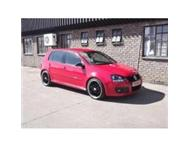 2006 vw golf 5 gti dsg 2.0 turbo red immaculate 19 mags