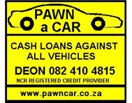 PAWN A CAR in Accessories Gauteng Roodepoort - South Africa