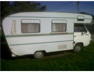 autovilla caravan for sale!