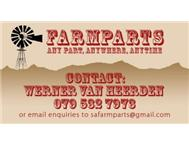 Any Condition Farm Parts in Wanted North West Potchefstroom - South Africa