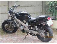 Black Honda BROS 400 in excellent condition