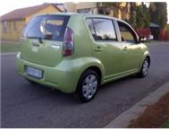 DAIHATSU SIRION 1.3I. 2006 MODEL. 136000KMS. R39999 negotiable