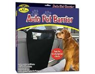 AUTO PET BARRIER; KEEPS YOUR DOG SAFELY IN THE BACK SEAT!