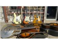 VINTAGE AND RARE GUITARS JOHANNESBURG