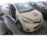 TOYOTA YARIS 2012 CODE 2 ACCIDENT DAMAGED
