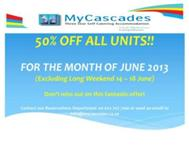 MyCascades @ Club Mykonos Langebaan 50% OFF ALL UNITS!!!