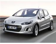 Drive and own a new Peugeot 308 ACCESS from R 2499 p/m