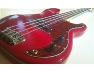 SX TRADITIONAL SERIES ELECTRIC BASS GUITAR