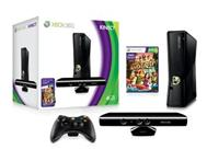 Xbox 360 4gb with kinect one remote and 3 games