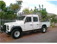 2001 LAND ROVER DEFENDER 130 TD5 D/CAB /// VEHICLE IN DURBAN