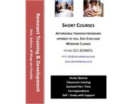 Acredited Short Courses - Day Evening Saturday Classes