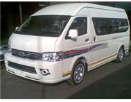 NEW 16 SEATER MINIBUS For Taxi/Tour Operators