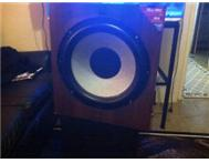 SONY 15inch speaker active sub for home theatre
