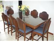 Art Deco Dining Table and Chairs 50 s