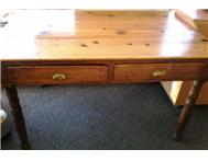 Oregan pine desk