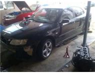 Saab s stripping for spares