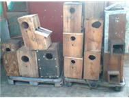 AFRICAN GREY BREEDING BOXES