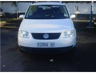 VOLKSWAGEN TOURAN TDi 2005 7 SEATER FOR SALE