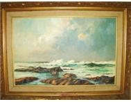 Seascape SA - John Smith Painting - Stunning!