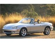 MX5 Convertable - 70km s