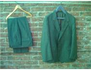 1 x mohair suit and 2 x material suits