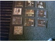 10 original hip hop/rap cd's for sale