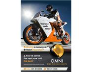 We specialise in motorcycle insurance!