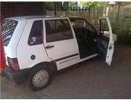 uno pacer white 1400 a lady driver Randfontein swap or cash