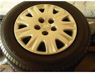 2006 Honda Civic LXI 15 rims and tyres