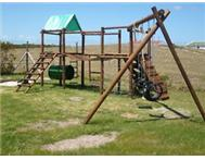 Wooden jungle gym (Trompie) new
