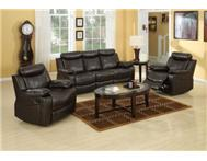 New 3 Piece 5 Action Bonded Leather...