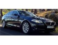 BMW 520d 2.0 Diesel 2012 Hire Tours Cape Town