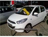 Hyundai i10 low mileage free paintech and safety film