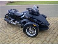 2009 Can Am Spyder RS Semi-Automatic.