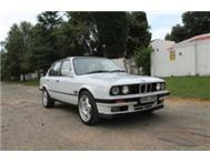 1990 BMW 325i E30 Manual Exec Sunroof White