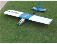 Quick Stick 1.2 meter W/span shoulder wing R/C model aircraft.