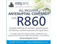 Antenuptial Contracts - R860