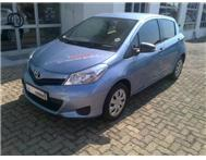 2013 TOYOTA YARIS 1.3 5dr Base