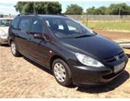 2004 PEUGEOT 307(STATION WAGON)A/C P/S E/W LEATHER SEATS 5 SPEED