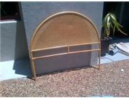 BED HEADBOARD CAIN BARGAIN R100 AS NEW BELLVILLE