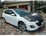 Mazda 3 2.3 MPS with carbon fibre wrap