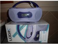 Logik portable cd player/radio