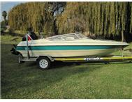 2002 RAVEN ELITE 17FT 125HP MERCURY