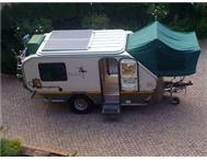 Brakhah offroad caravan with lots of extras in excellent cond