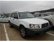 2003 SUBARU FORESTER 2.5 XSEL MANUAL MMAWHOLESALERS.CO.ZA