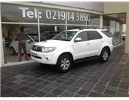 Toyota - Fortuner I 3.0 D-4D Raised Body